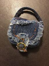 Bratz Doll Accessories Cloe's Original STRUT IT Blue Denim Bag