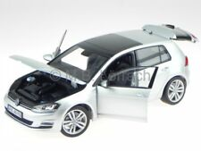 VW Golf 7 4-door silver diecast model car Norev 1/18