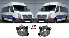 FOR VW CRAFTER 2006-2013 NEW FRONT BUMPER FOGLIGHT LAMP PAIR SET