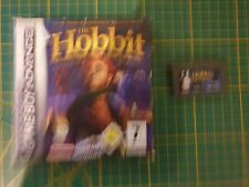 GAME BOY GAMEBOY ADVANCE GBA BOXED BOITE THE HOBBIT PRELUDE TO THE LORD OF THE R