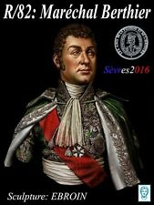 Alexandros Models Napoleonic Marshall Berthier Resin Bust 1/10th Unpainted Kit