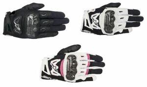 Alpinestars Stella SMX 2 v2 Air Carbon Ladies Leather Motorcycle Bike Gloves