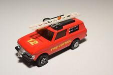 1:43 MATCHBOX SPEEDKINGS K64 FIRE ENGINE CONTROL RANGE ROVER EXCELLENT CONDITION