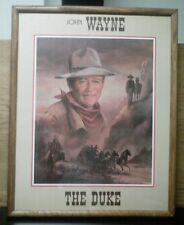 """John Wayne """"The Duke"""" by Ron Parker (Framed)"""