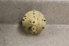 Chelsea Model K 8 Day Clock Movement Running WW II Front Wind