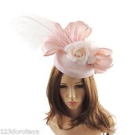 Jade Peacock Fascinator Hat for weddings//ascot//proms  With Headband K2