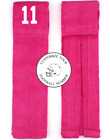 Player Number Football Towel Pink White Cancer Wide Receiver Linebacker WR LB