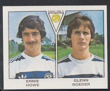 Panini 1980 Football Sticker No 477 - Ernie Howe / Glenn Roeder - Q.P.R (S232)