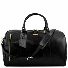 TL Voyager - Travel leather duffle bag - Large size