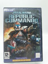 Star Wars Republic Commando PC Game Complete CD-Rom Lucas Arts Classic Shooter