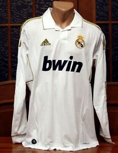 2011/2012 Real Madrid Long Sleeve Jersey Shirt