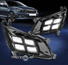 For 2014-2015 Optima Front Bumper LED Fog Light Lamp +Black Bezel Left+Right Set