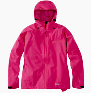 Madison Leia Waterproof Jacket Coat Cycling Walking Rose Pink Size 14 Large New