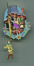 Rapunzel Tower Jumbo Christmas Event Pin Disneyland Paris DLP Tangle (NO NUMBER)
