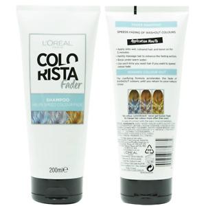 1x Loreal Colourista Fader Shampoo 200mL Hair Colour Fade - Makeup Warehouse