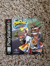 Crash Bandicoot: Warped - Sony PlayStation PS1 - Manual Only