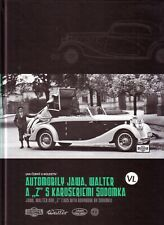 Book - Jawa Walter Z Sodomka Coachwork English - Automobily Karoseriemi Sodomka