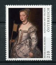 Austria 2017 MNH Peter Paul Rubens Girl with Fan 1v Set Art Paintings Stamps