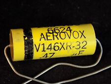 NOS 200 VDC AEROVOX capacitor .47 UF V146XR-32 RARE