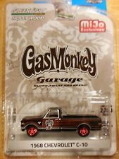 2017 GreenLight M&J Exclusive Gas Monkey 1968 Chevy C-10 Black 2300 Made
