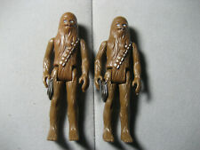 Vintage Star Wars Chewbacca 1977 Action Figures Lot of 2