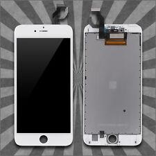 Display LCD für iPhone 6S Plus RETINA Glas Scheibe 3D Bildschirm WEISS WHITE TOP