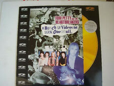 LASER DISC.TOM PETTY AND THE HEARTBREAKERS. EDICION JAPONESA- BUNCH OF VIDEOS AN