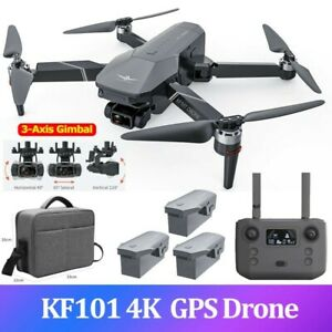 KF101 GPS Drone 4K Camera EIS 3-Axis Gimbal Brushless PRO Quadcopter FPV 5G RC