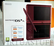 DSI XL WINE RED, NINTENDO, BRAIN TRAINING EDITION, ITALIAN MARKET EURO, COMPLETA
