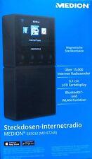 MEDION E85032 MD 87248 Steckdosen Internetradio Bluetooth Lautsprecher WLAN