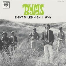 THE BYRDS EIGHT MILES HIGH/WHY [SINGLE] NEW VINYL RECORD