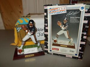NIB SIGNED WALTER PAYTON CHICAGO BEARS SPORTS IMPRESSIONS FIGURINE #54/975 RD