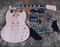 Open Tuner Electric Guitar Kits Standard SG Style Grover Tuner Mahogany Body