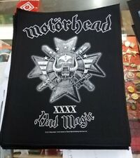 MOTORHEAD BACK PATCH NEW RARE COLLECTABLE WOVEN ENGLISH IMPORT BACKPATCH