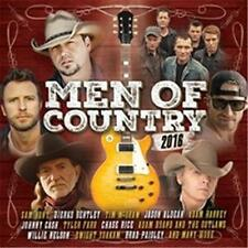 MEN OF COUNTRY 2016 VARIOUS ARTISTS 2 CD NEW