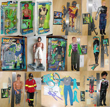 """CHOOSE FROM LARGE SELECTION OF MAX STEEL 12"""" FIGURES ACCESSORIES & VILLIANS TOO"""