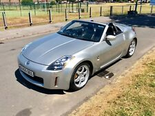 2006 55 Nissan 350z Roadster GT spec 6spd manual silver.  FSH !!!  PX