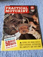 Vintage Practical Motorist Magazine March 1964