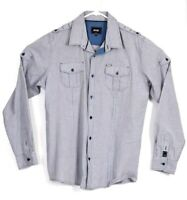 Rip Curl Shirt XL Mens Casual Button Up Formal Designer Top Long Sleeve X LARGE