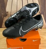 NEW Nike Mercurial Vapor 13 Academy FG/MG AT5269-001 Soccer Cleats Mens Sz 5 6 7