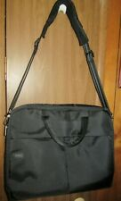 """DELL LAPTOP BAG Padded Cross Body Briefcase 17"""" X 14"""" w/Shoulder Strap & Handles"""