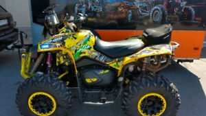 ATV decals Graphic Template for BRP RENEGADE 800/1000