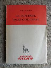 La questione delle case chiuse - Luigi Scremin - Studium 1952