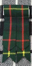 New Scottish Highland Kilt Sock Flashes Hunting Stewart Tartan/Kilt Hose flashes