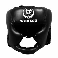 Headgear Head Guard Training Kick Boxing Protector Sparring Gear Face Helmet