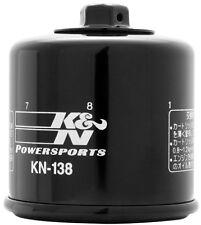K & N KN-138 Oil Filter Suzuki GSXR Kawasaki Arctic Cat KYMCO Arilia