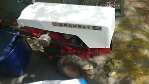 Gravely walk behind tractor Model L w/ Jenkins OHV Conversion