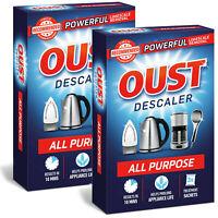 Oust All-Purpose Descaler Sachets, 2 Packs of 3 Sachets