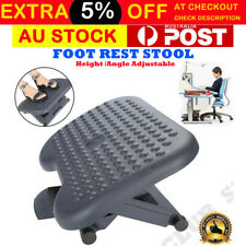 Foot Rest Stool Office Computer Desk Footrest Comfort Height Angle Adjustable