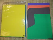 Foamies Foam Sheets 14 Assorted Colors 9 x 12 inches Arts Crafts Children Opened
